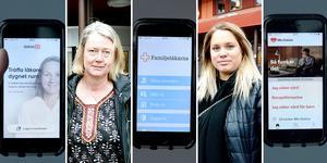 Varken Sara Dahlqvist eller Inez Bredberg  har anlitat nätläkare, men de är listade vid Hälsocentralen Centrum, som tillhör det vårdområde i regionen där flest patienter anlitar just nätläkare.