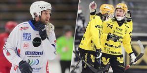 Joakim Hedqvist (till vänster). Bild: Andreas Tagg / TT