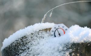 Fortsatt kyla i Västernorrland.