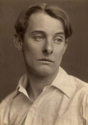 Oscar Wildes älskare Lord Alfred Douglas 1903. Foto: George Charles Beresford