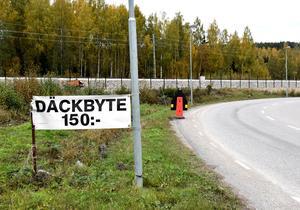 Osman Bilservice hade rekordlågt pris för däckbyte tidigare i veckan: 150 kronor.