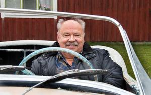 Till sommaren hoppas Börje Johansson kunna ta plats bakom ratten och styra ut  VW:n med Carina karossen på vägarna igen.