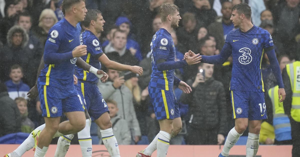 Werner sköt Chelsea till serieledning