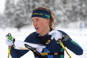 Tove Alexandersson vann dubbelt i helgens testtävlingar i Mora.