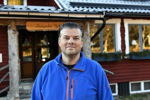Siljansnäsaren Anders Doverskog och hustrun Linda har numera sin hemvist i norra Dalarna, som ägare till Lövåsgårdens fjällhotell.