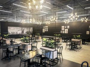 En stor konditori med bistro kommer att byggas i Ekos butik. Foto: Johan Tallberg