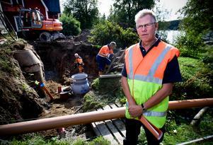 Runt om i hela Västernorrland arbetar man med att förnya vatten- och avloppsnätet. Likaså för dagvatten. Ledningarna är ofta mycket gamla och kan ha svårt att klara ökade nederbördsmängder.