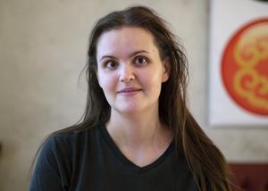 Malin Berglund, 27 år, servitris, Sundsvall