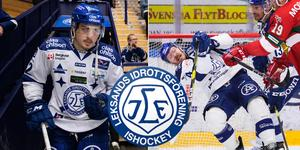 Leksand tar in Erik Aterius som extraspelare i match fyra mot Mora. Mattias Nilsson vilas. Foto: Daniel Eriksson/Bildbyrån. Bilden är ett montage.