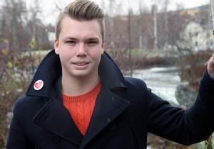 Johan Andersson, oppositionsråd och distriktsledamot, för Centerpartiet i Sollefteå kommun.