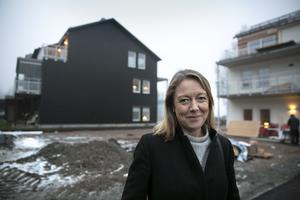 Katarina Hultqvist är vd för Hultqvist Fastigheter.