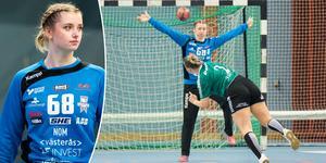 Josefine Hultberg Dahlgren räddade två straffar sent i matchen – när VI vann med en boll.