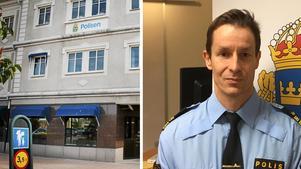 Fotomontage:Salapolisen Stefan Johansson har utsetts till ny lokalpolisområdeschef för Norra Västmanland.