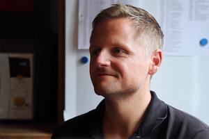 Lars Sköld, vd JK Villan.