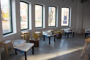 Sundsvalls kulturskola fick nyss nya lokaler fär bland annat bildundervisningen.