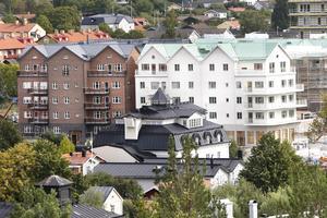 – Vi ville att Hamnhus 1 skulle ha två olika fasader för att det inte skulle upplevas som en allt för stor byggnad, säger Magnus Fagerström, vd på Centrumfastigheter.