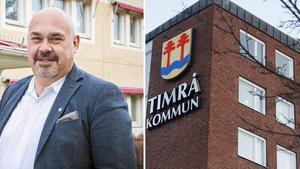 Christian Söderberg är riktigt nöjd med företagsrallyt i Timrå.