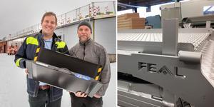 Feal bygger ut och fördubblar sina produktionslokaler. Detta för att kunna fortsätta att växa säger företagets ägare Mats Sundstedt och Björne Stjernsten.