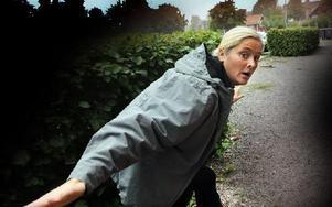 Dramapedagogen Bettina Bergknecht garanterar en annorlunda och spännande Byta plats. Foto: Staffan Björklund
