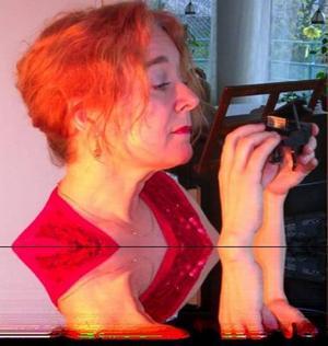 Spelar som förr. Katarina Ström-Harg från Ensemble Crusell.