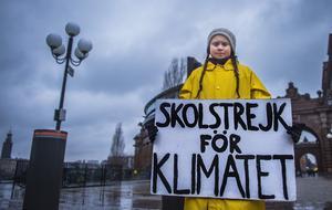 Politiska lösningar krävs för att ta i tu med klimatkrisen – men så gör även förändringar i våra levnadsmönster. Greta Thunberg har under ett år drivit en uppmärksammad skolstrejk för klimatet. Foto: Hanna Franzén/TT
