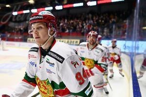 Sebastian Hartmann gjorde viktiga 3–1 för Mora mot Linköping. Foto: Peter Holgersson/Bildyrån