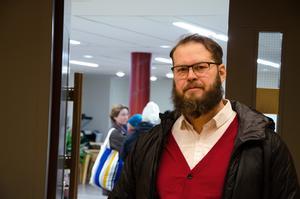 Jon Björkebäck är besviken.