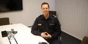Max Åkerwall är polischef i Södertälje eller lokalpolisområdeschef som det heter.
