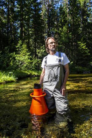 Biologen Oskar Norrgrann.