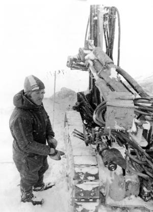 Lars-Erik Olofsson från Brunflo var en av dem som jobbade i snöyran på Åreskutan 1975.