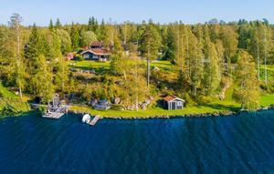 En villa med sjötomt, brygga, bastu och annat lockade till många klick. Foto: Ove Lundkvist