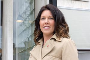Johanna Odö (S), kommunstyrelsens ordförande i Norbergs kommun.