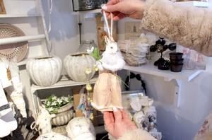 En vadd-hare till påsk i egen design.