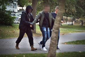 Polisinsats mot människohandel
