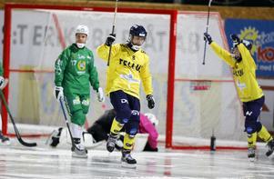 Tobias Björklund gjorde flest mål i Tellus förra säsongen. Han blir en nyckelspelare i år igen. Foto: Christine Olsson / TT
