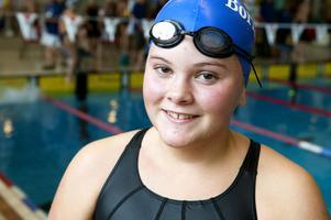 13-åriga Madelene Nilsson från Borlänge är glad över att få inleda säsongen med en tävling på hemmaplan.