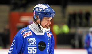 Johan Koch svarade för en energifylld match mot Bollnäs.