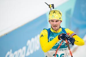 Fredrik Lindström på söndagen. Bild: Carl Sandin/Bildbyrån.