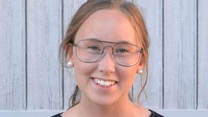 Amanda Jonsson. Foto: Pressbild från MUF Jämtland.