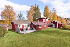 Denna villa i Dammen i Falu kommun kommer på femte plats. Foto: Kristofer Skog/Husfoto