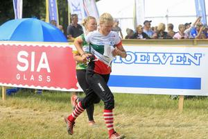 Rebecka Lindberg under tävling, arkivbild. Foto: Michael Hallner
