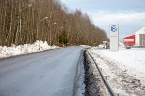 Området ligger strax ovanför Birstavägen och är på drygt fyra hektar