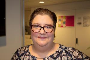 Johanna Sethi, socialsekreterare, våld i nära relation på socialtjänsten.Foto: Ann-Christine Kihl