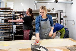 Från början var caféet tänkt som en bisyssla för Andrea Skott Dahlgren, men i dag har hon anställda som jobbar tillsammans med henne. Foto: Privat