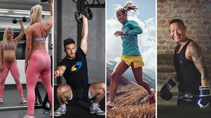 Vi listar 30 träningsprofiler med olika träningsinriktningar - allt från personliga tränare och yogalärare till traillöpare och crossfitutövare.