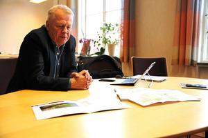 Peter Karlsson är kommunchef i Mora och påpekar att utredningen nu får visa vad som gäller. Arkivbild tagen av Katarina Cham.