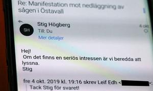 Facket har inte fått några tydligare besked om Norrskogs försäljningsvilja än det som tidigare levererats till de personer som jobbar för att rädda kvar sågverket under nytt ägarskap.