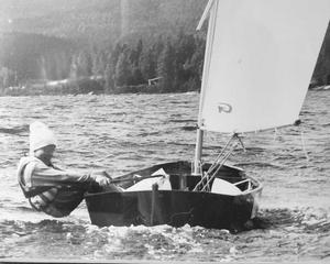 Foto: Privat. Pål började segla som 6-åring i Örnsköldsviks Segelsällskap, ÖSS.