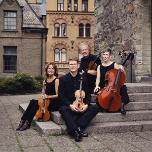 Roger Olsson, violin, Hans Elvkull, violin, Linn Elvkull, viola och Hanna Thorell, cello utgör tillsammans Wirénkvartetten.