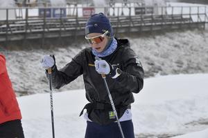 Stina Nilsson laddar för säsongen på Idre Fjäll.